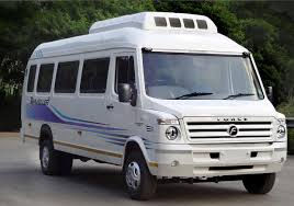 13 Seater Tempo Traveler On Rent In Jammu and Kashmir