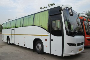 Volvo Bus 41 seats on rent in kashmir
